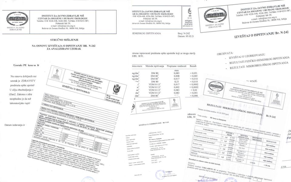 sertifikati za zdravstvenu ispravnost mediapak
